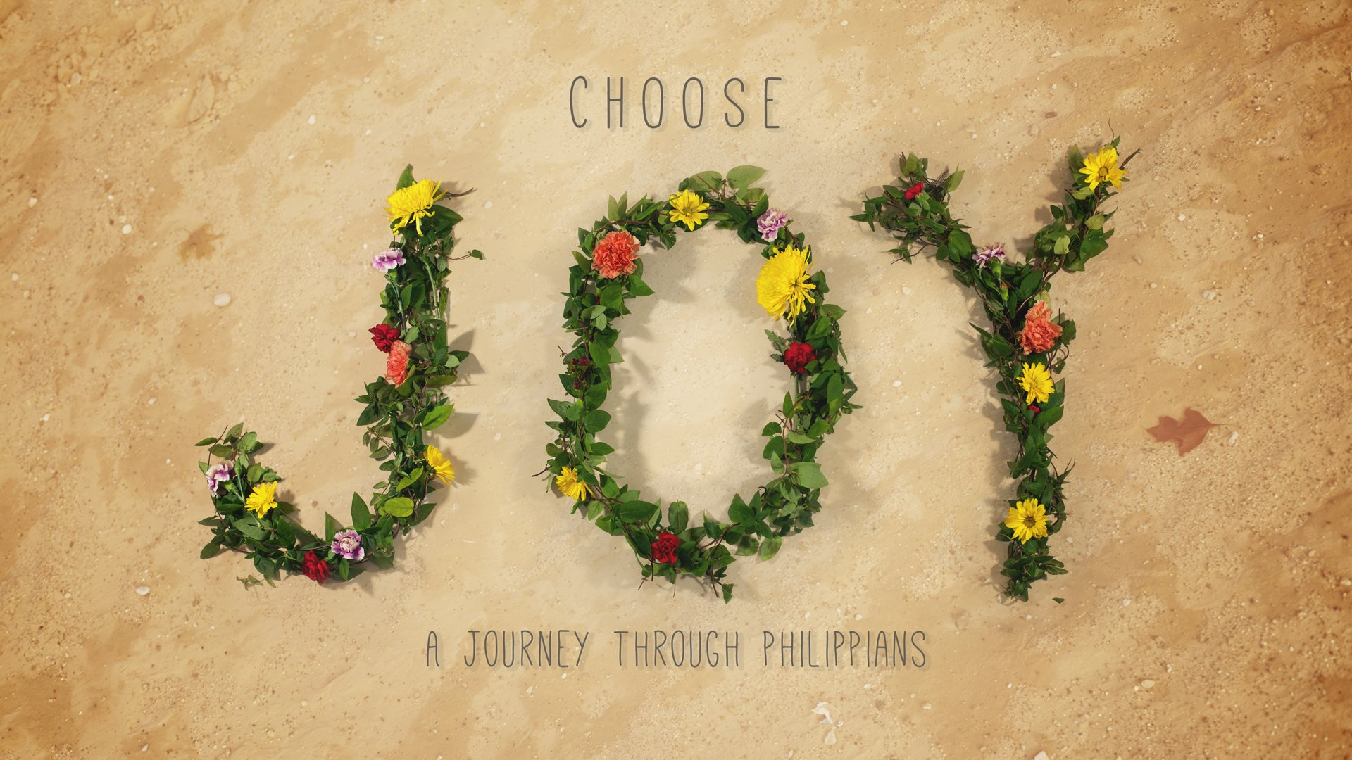 Choose Joy Sermon Series Philippians