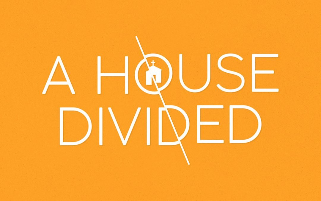 """Seek Unity, Not Division"" A House Divided: Week 2 (1 Corinthians 1:10-17)"