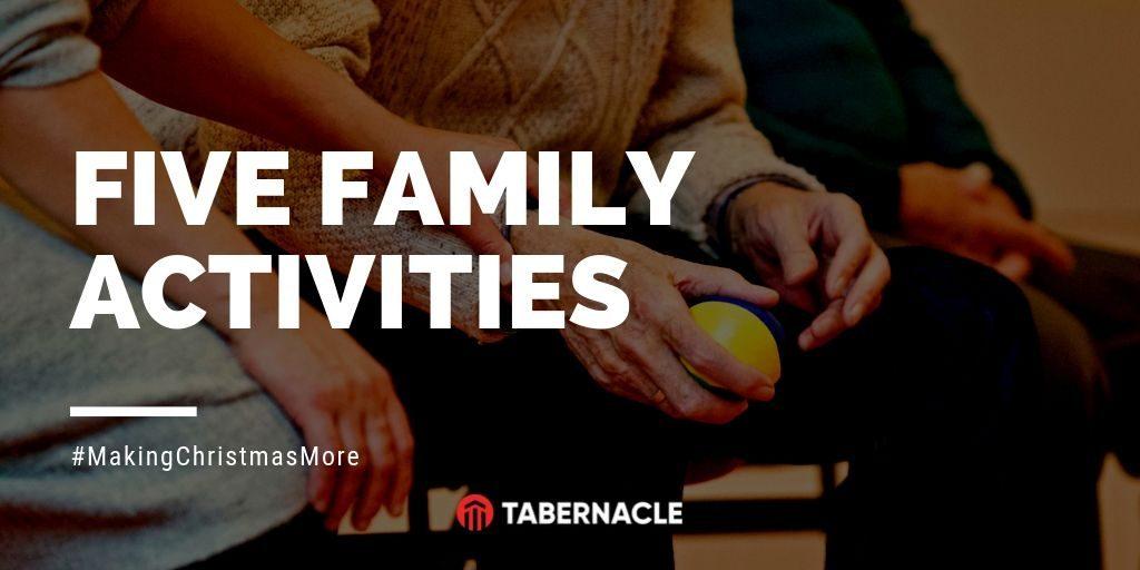 5 family activities